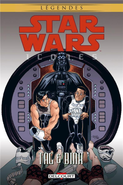 Star Wars - Icônes tome 7 - Tag & Binks