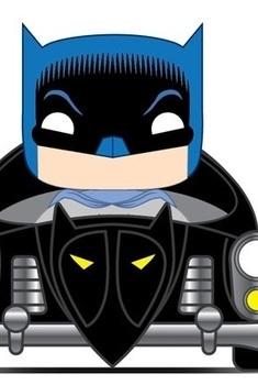 DC Pop Rides Batman With Batmobile 1950