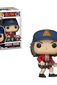 Rocks Pop AC/DC Angus Young Red Jacket Exclu