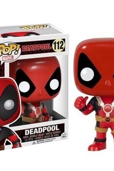 Marvel Pop Deadpool Movie Deadpool Thumb Up figurine 9cm