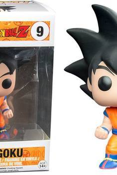 DBZ Pop Son Goku Black Hair Version 10cm