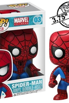Marvel Pop Spider-Man 10cm