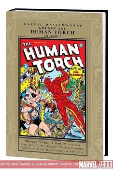 Human Torch comics