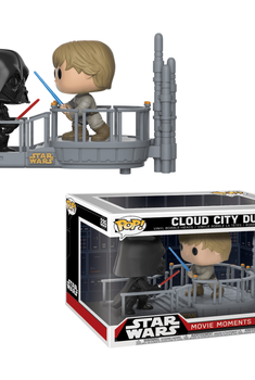 Star Wars -  Movie Moments - Cloud City Duel Exclusive - Luke Skywalker and Darth Vader