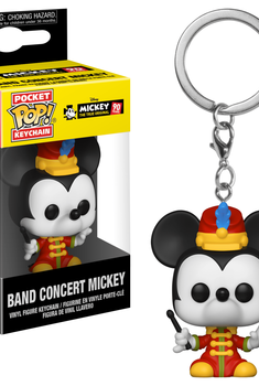 Disney Animation - Pop! Keychain - Mickey Mouse (Band Concert)
