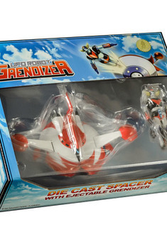 Grendizer 20th Anniversary ejectable die cast spacer ed.