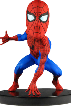 Marvel Classics Head Knocker Spiderman Toy