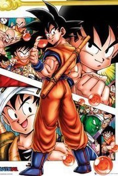 Dragon Ball Z Collage