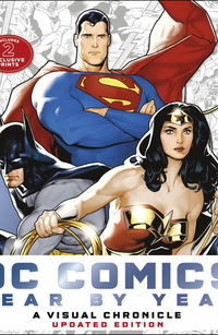 DC comics Year by Year
