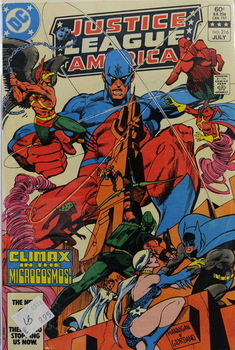 Justice League of America 216