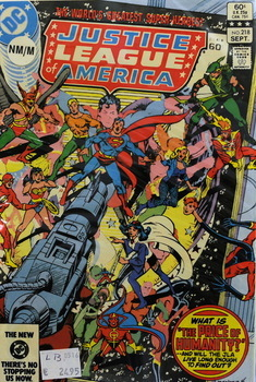 Justice League of America 218