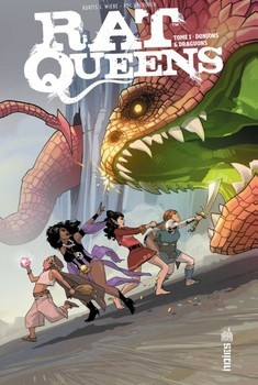 Rat Queens Tome 1 - Donjons et dragons