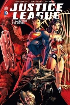 Justice League Tome 5 - La guerre des ligues