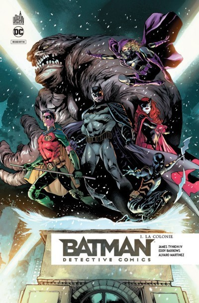 Batman detective comics tome 1 - La colonie