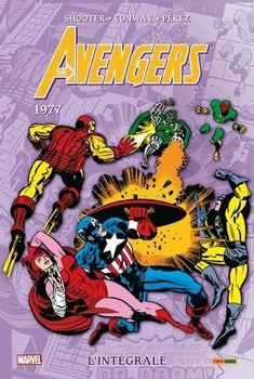 Avengers - intégrale tome 14 - 1977