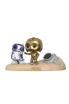 Star Wars pack 2 POP! Movie Moments Vinyl Bobble Head Escape Pod Landing 9 cm